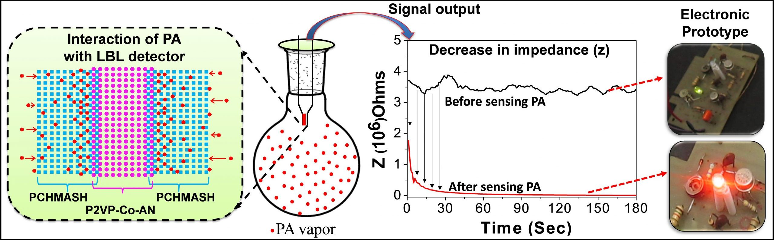 Electronic polymer based low cost sensor developed to detect explosives rapidly